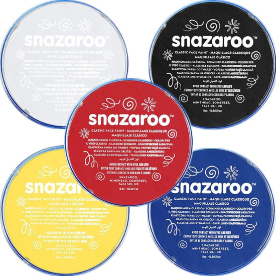 Base Colours Snazaroo Face Paint