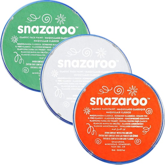 Irish Snazaroo Face Paint Set