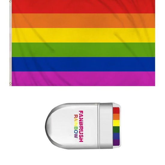 Pride Set (Flag & Fanbrush)