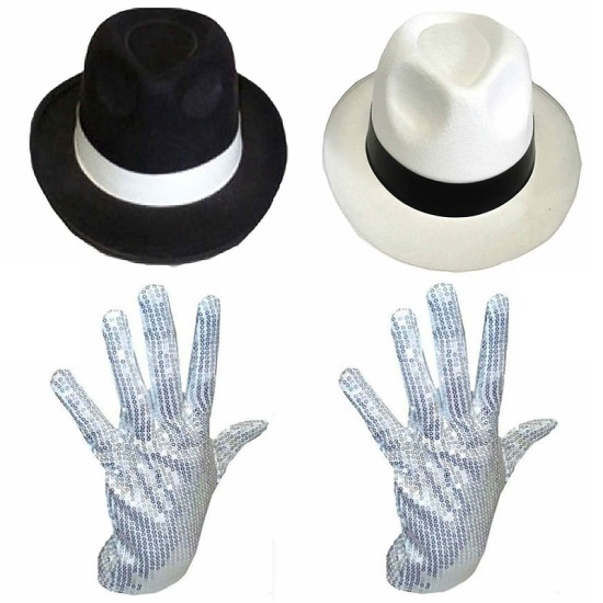 Michael Jackson Set (Hat & Glove)