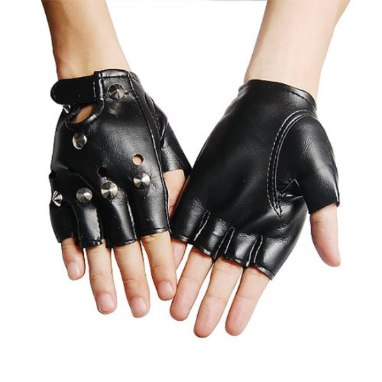 Fingerless Punk Gloves