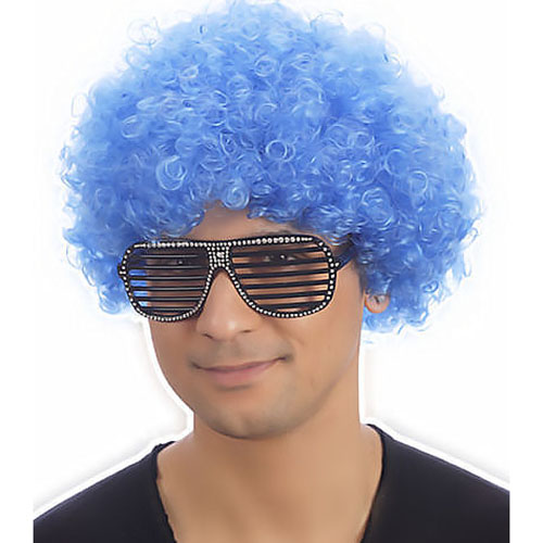 Afro (Blue)