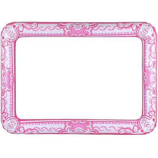 Pink Inflatable Photo Frame