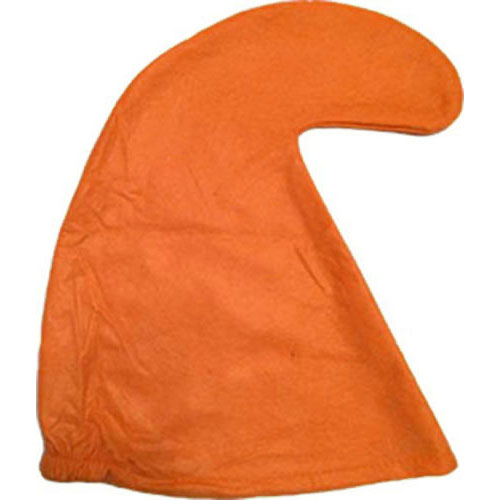 Orange Smurf Hat