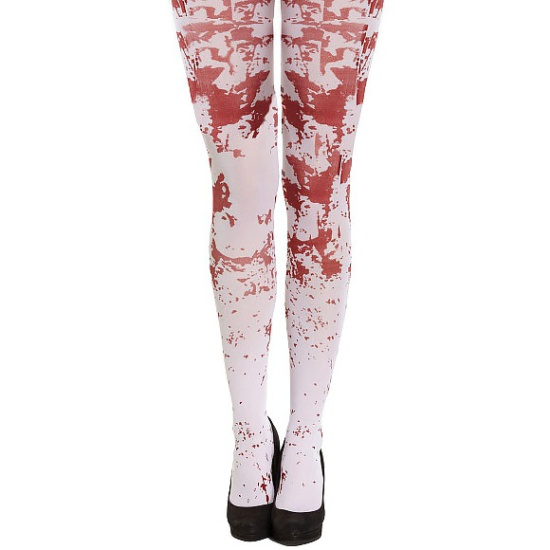 White Blood Stained Tights
