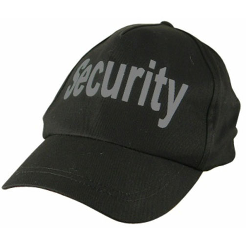 Black Security Cap