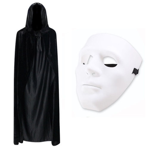 Jabbawockezz Mask And Cape