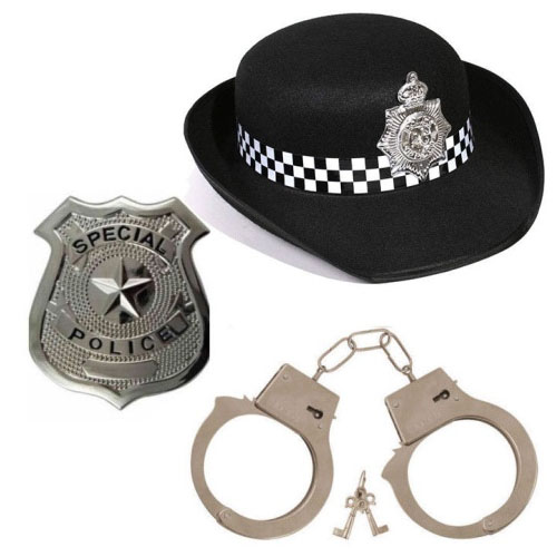 PoliceWoman 3pc Set