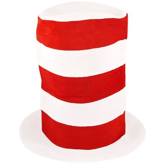 Red And White Top Hat