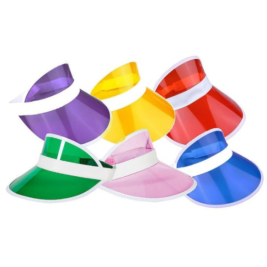 Visors Multi (Pack Of 6)