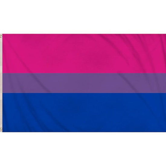 Bisexual Pride Flag (5ft x 3ft)