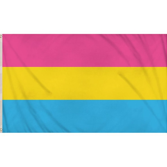 Pansexual Pride Flag (5ft x 3ft)