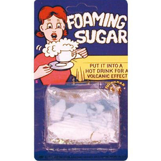 Frothing Foaming Sugar