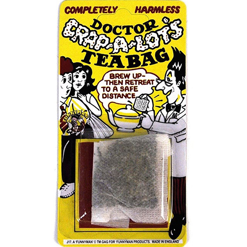 Doctor Crap-A-Lot Tea Bag
