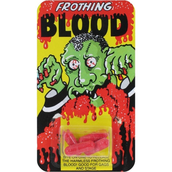 Frothing Blood