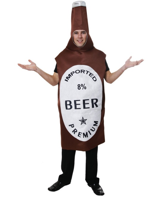 Beer Bottle Costume Costume