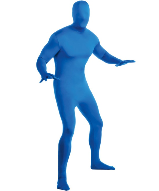 Blue 2nd Skin Costume