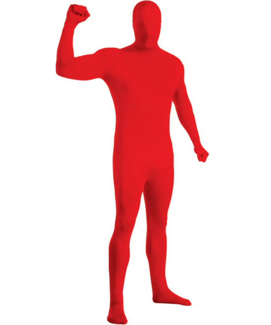Red 2nd Skin Costume