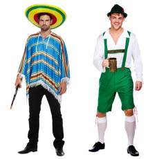 Mens Around The World Costumes
