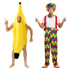 Mens Clown,Circus & Novelty Costumes