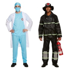 Mens Emergency Services Costumes