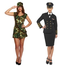 Womens Armed Services Costumes