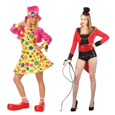 Womens Clown,Circus & Novelty Costumes