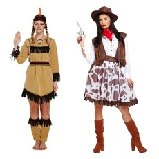 Womens Cowgirl & Indian Costumes