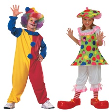 Childrens Clown Costumes