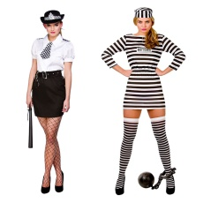 Womens Cops & Robbers Costumes
