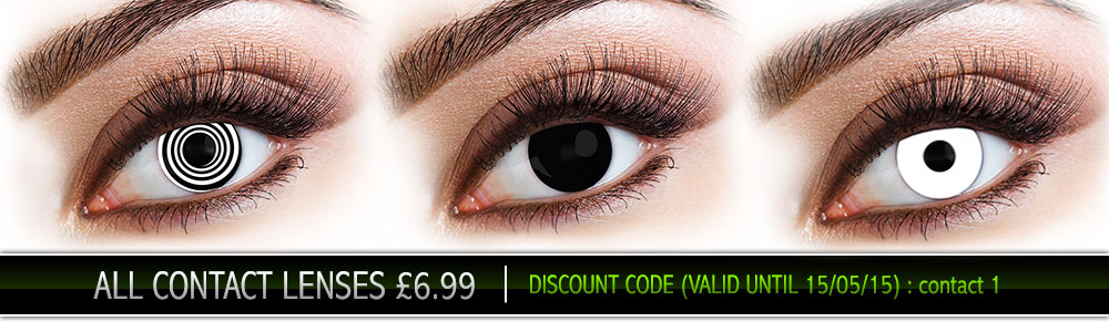 All Contact Lenses £6.99