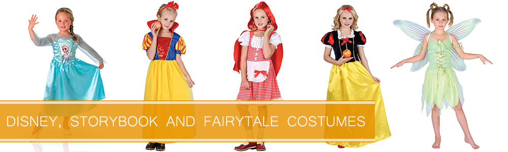 Disney, Storybook and Fairytale Costumes